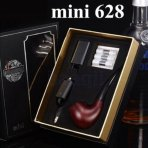 E Pipe mini 628 Hookah Battery Charger Full Kit Imitate Solid Wood Old-fashioned Gift