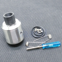 Goon 528 RDA Rebuildable Dripping Atomizer - SILVER