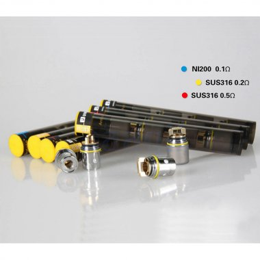 4 X Replacement Coil Heads for Uwell Rafale - Ni200 0.1ohm