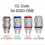 5 X Replacement Coil Head for eGo ONE / Universal - Ti 0.4ohm