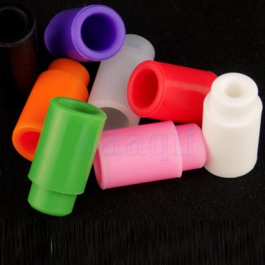 3 X Soft Silicone Plastic 510 Drip Tips for Subtank Tank Mod Vape - Random Color