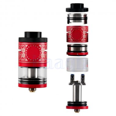 IJOY RDTA Plus 6.3ml Rebuildable Dripper Tank Atomizer - RED
