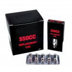5 X SSOCC Vertical Coil fit for Kanger Subtank plus Nebox Subvod - 0.5ohm