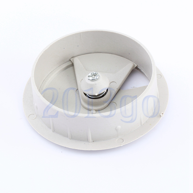 50mm office computer desk cable hole covers plastic grommets gray cg ebay. Black Bedroom Furniture Sets. Home Design Ideas