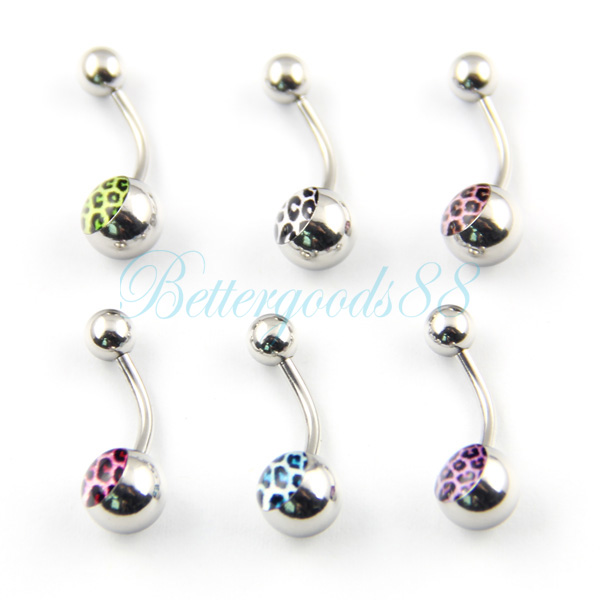 wholesale bulk assort nose navel belly tongue stud body On cheap body piercing jewelry