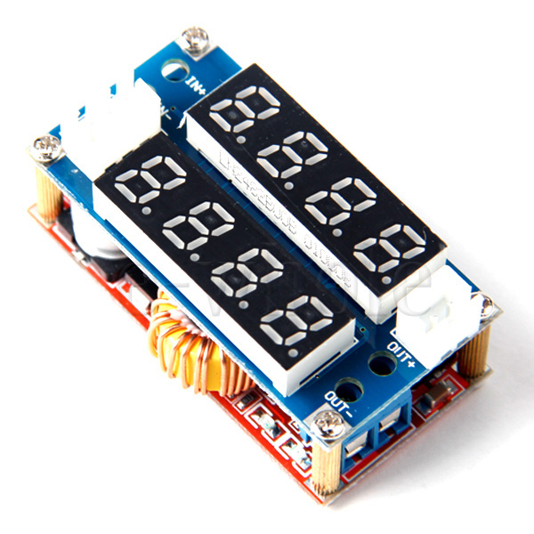 5A-Adjustable-Power-CC-CV-Step-down-Module-LED-Driver-Voltmeter-Ammeter-EW