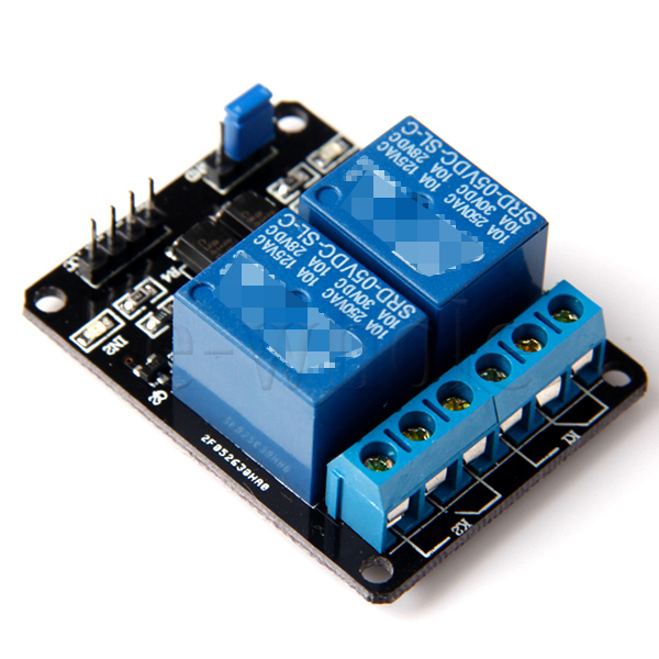 Pc v channel relay module for arduino pic arm dsp avr