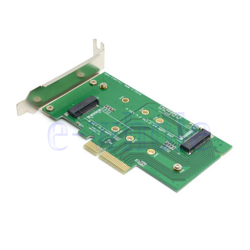 M 2 Pcie Adapter Pakistan Adapter Nikon To Sony E Mount Wifi Adapter Gone From Laptop Adapter Adapter Meaning: M.2 NGFF PCI-E LANE SSD To PCIE X4&3.0 To SATA Adapter