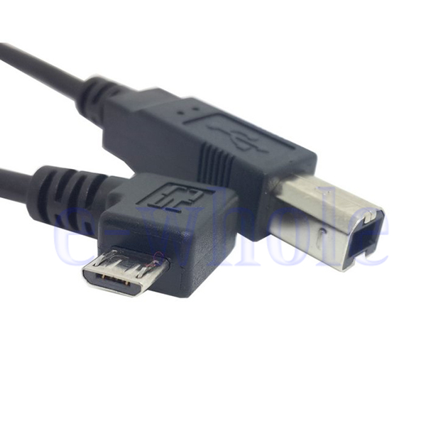 Micro Usb To Usb B Type Data Cable For Otg Mobile Tablet