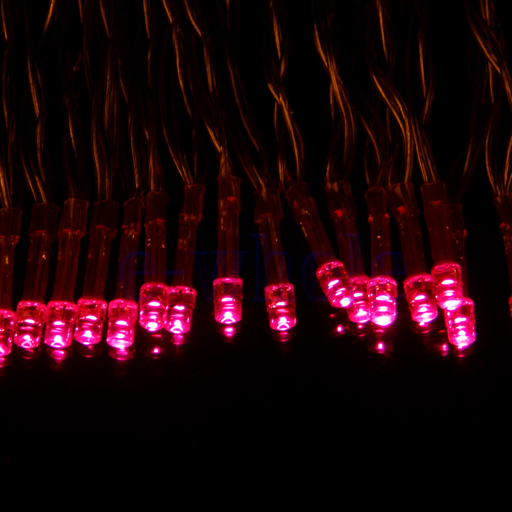 Pink String Lights Battery Operated : Pretty Useful Lovely Pink 40 LED Outdoor String Light AA Battery Operated TW eBay