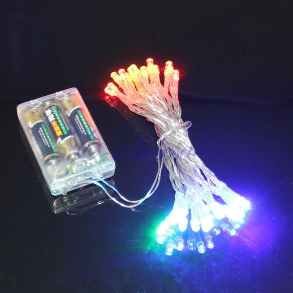 200/30/40 LED portable Battery Powered String Fairy Lights Flash Modes XMAS HM eBay