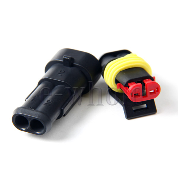 Hot-1-Kit-2-Pin-Way-Waterproof-Car-Electrical-Wire-Connector-Plug-Plastic