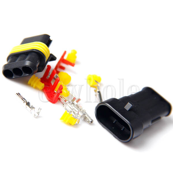 3Pin-3Way-Waterproof-Car-Electrical-Wire-Connector-Male-and-Female-Plug-Kit-EW