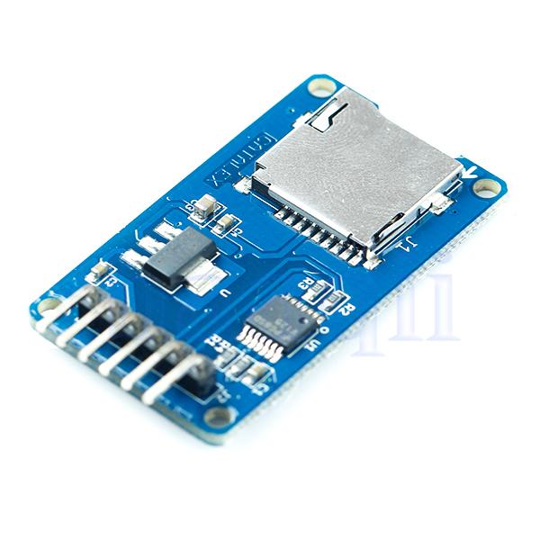 Micro sd storage board tf card memory shield module spi