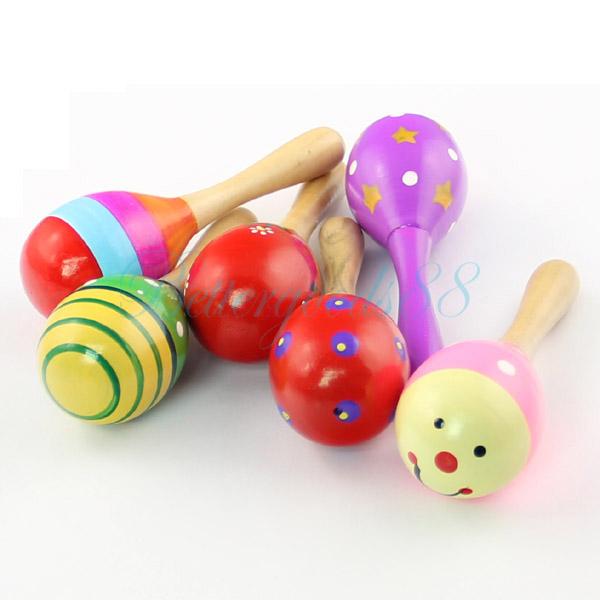 Infant Baby Kids Toys Rattles Sand Hammer Party Pavor Sound Toys Ramdon