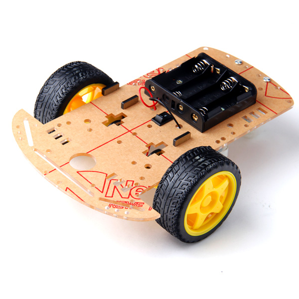 arduino roboter 2wd bausatz kit car chassis mit. Black Bedroom Furniture Sets. Home Design Ideas