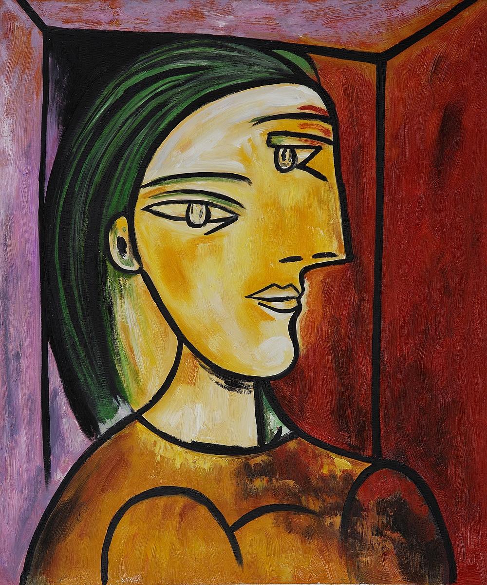 "Cubist Oil Painting 20*24"" Reproduction Pablo Picasso ..."