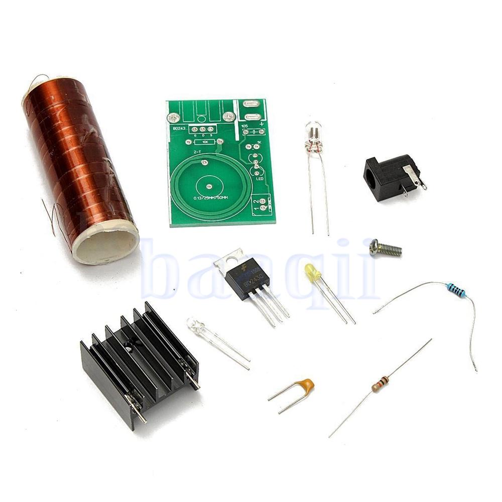 Diagram Of Mini Tesla Coil Schematics Data Wiring Diagrams Schematic 12v Dc Diy Kit Arc Wireless Electric Power Transmission Lighting Us Ebay Circuit
